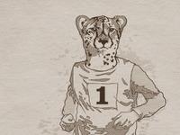 Wait for me Cheetah!