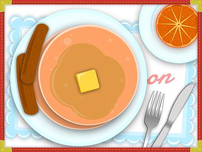 Diner Eats illustration game design food mobile diner
