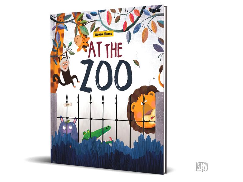 ZOO illustrator illustration