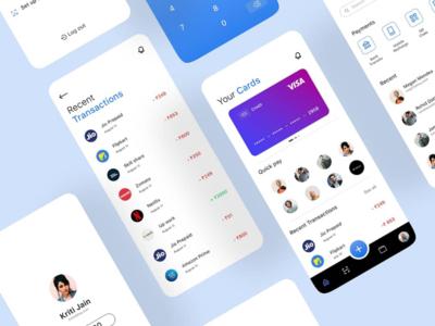 CardGo - Digital Payment App behance uiuxdesigninspiration design card go payment figma ui ux uiux