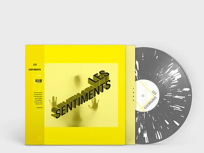 Sentiments / Feelings feelings cover design vinyle illustrator design