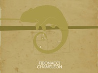Fibonacci Chameleon