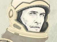 Matthew McConaughey in Interstellar⠀