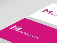 Tarjetas Corporativa Pantone 233C design diseño card tarjeta magenta pantone