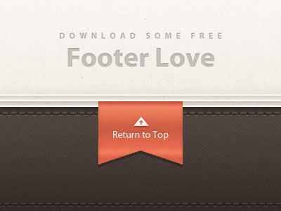 Free Footer Detailing psd free detailing tag texture stitching