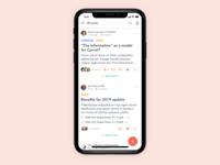 Mobile web explorations