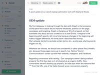 Multi-user post creation