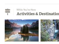 Activities & Destinations