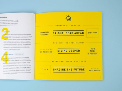St. Pete Innovation District Book brochure annual report design annual report report report design stats innovation tech book design book designer booklet book print design print layout design layout typography branding and identity brand design brand identity