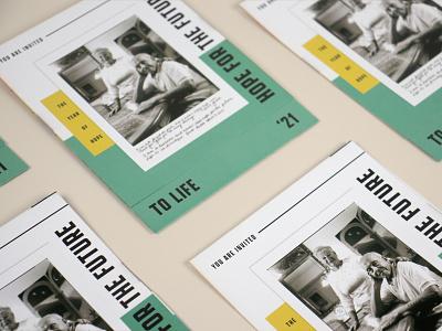 Florida Holocaust Museum To Life 2021 Invitations envelope typography identity design brand identity invitation design invitation card invitation set rsvp branding holocaust invitation invitations print design print