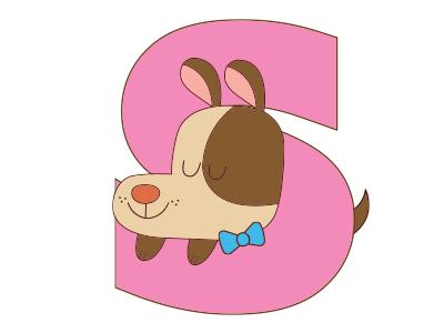 S Dog alphabet