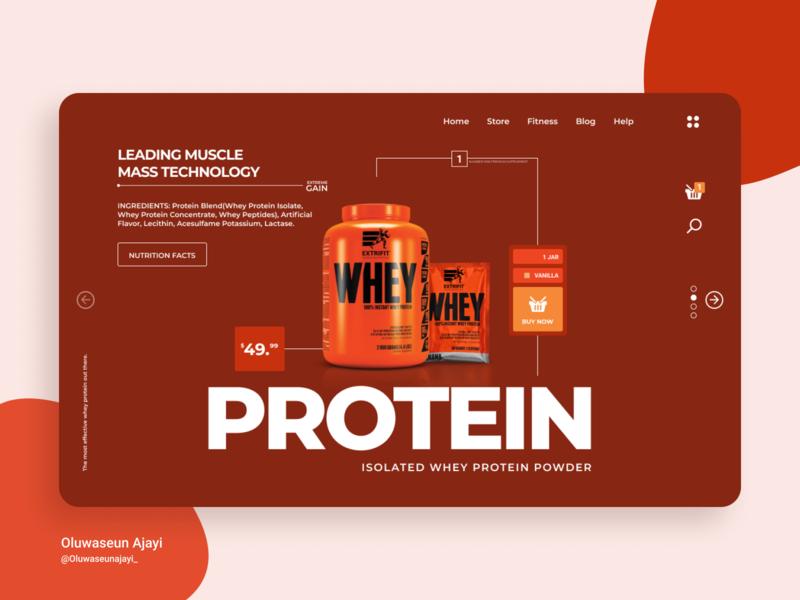 WHEY REBOUND minimal design workout whey webdesign web protein minimal graphics figmadesign figma branding ux ui design