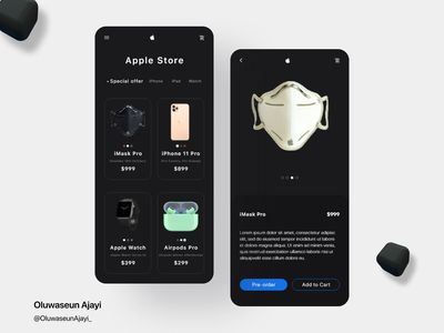 APPLE CONCEPT DESIGN uxdesign uidesign ios iphone airpods iphone app apple watch apple mobile app design mobile design mobile ui app design graphics minimal minimal design ui ux design figmadesign figma