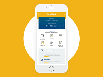 Mobile Bank App turkey ux ui app mobile