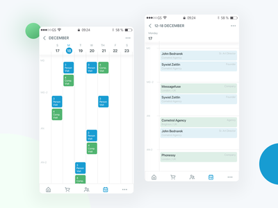 Mobile Calendar mobile app ux ui calendar app mobile calendar
