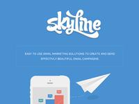 Skyline Logo + Landing Page