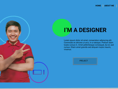 BEKTI design portfolio webdesign