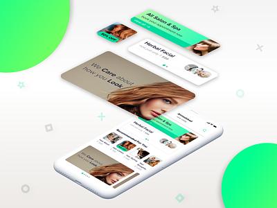 OnDemand Service Booking App UI Elements servicebooking service ondemand appui uiux ui ui elements