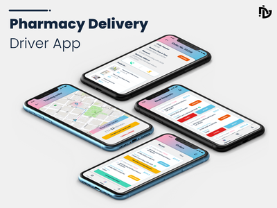 Pharmacy Delivery - Driver App driver app pharmacy delivery driver pharmacy app pharmacy