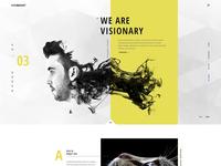 Visionary - Home Portfolio