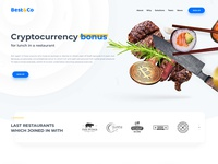 Design for Cryptocurrency Restaurant Marketplace Best&Co
