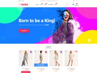 Redesign Shopify Themes Seiko for Themeforest