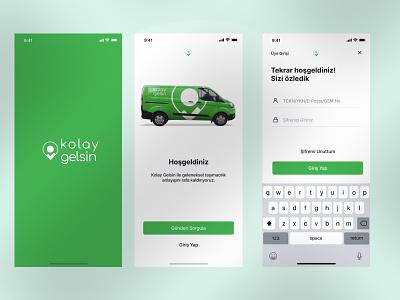Kolay Gelsin Mobile App Redesign ui ux minimal free clean design uıdesign mobile app design mobile design mobile ui