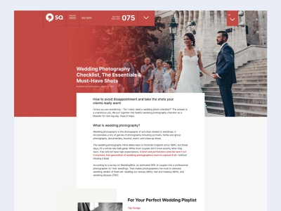 Photography Magazine Detail photography portfolio branding daily ui clean free minimal typography uidesign web design website figmadesign blog cover blog design blog post blog photography website
