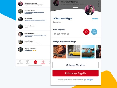 Visual Exploration | User Profile  | Daily UI 6 free sketch free app re-design ux ux design chat app sketch vector icon free typography design daily ui dailyui clean minimal ui
