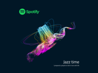 Spotify Playlist Cover | Jazz Time