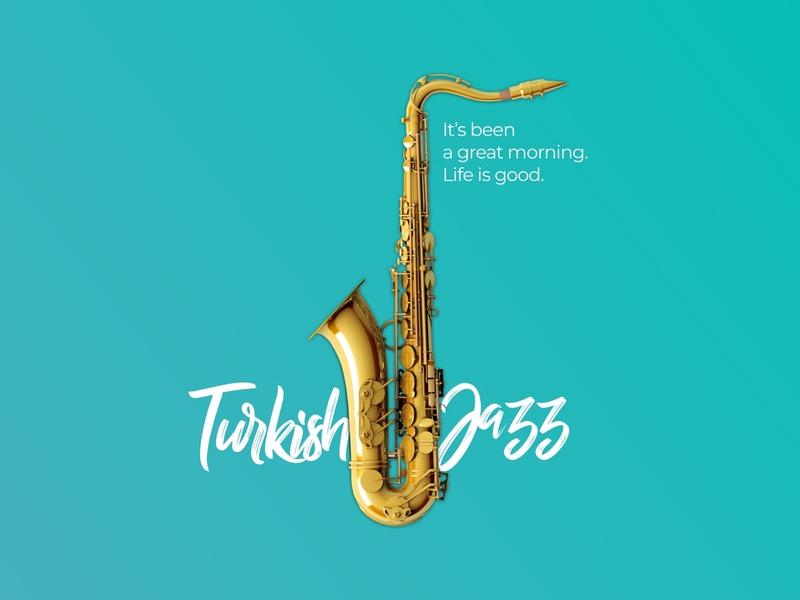 Spotify Playlist Cover | Turkish Jazz minimal clean sketch challenge spotify playlist cover free