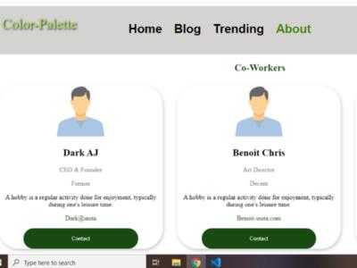 Customize web-page design