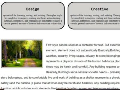 Sample Blog creation