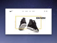 Nike Jordan - Landing page
