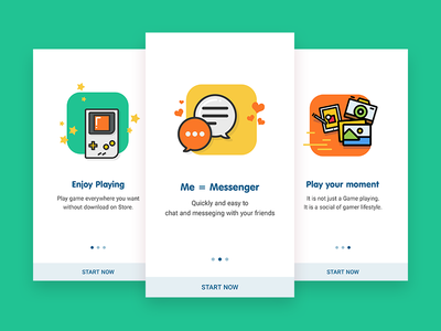 Zing Play - Onboarding Screen onboarding play game mobile app ux ui android ios