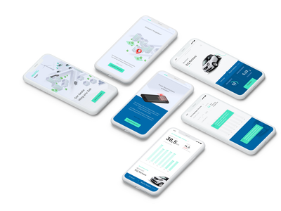 Fight your range anxiety with Ranger! consulting business strategy concept startup uxui user experience mobility electric vehicle emobility product design metrics data visualization ux