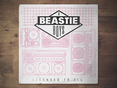Beastie Boys Record Redesign