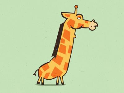 Giraffe Logo micahburger micahmicahdesign giraffe vector character