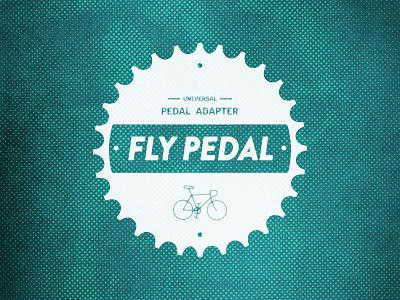Fly Pedal badge version #085 illustration badge vector flypedal