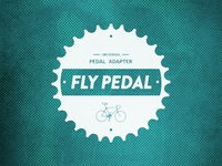 Fly Pedal badge version #085