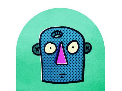 Untitled 4 - Feb 10 illustration confused texture
