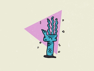 Creepy Hand hand illustration