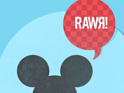Rawr - Free iPhone wallpaper