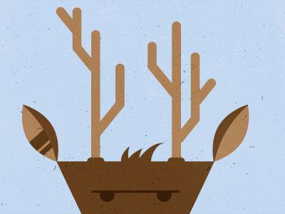 Rudolph-Winter Series micahmicahdesign micahburger vector character rudolph