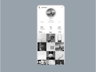 Daily Ui #006-User Profile branding website art ui design app ux illustration dailyui 006 daily 100 challenge dailyuichallenge dailyui