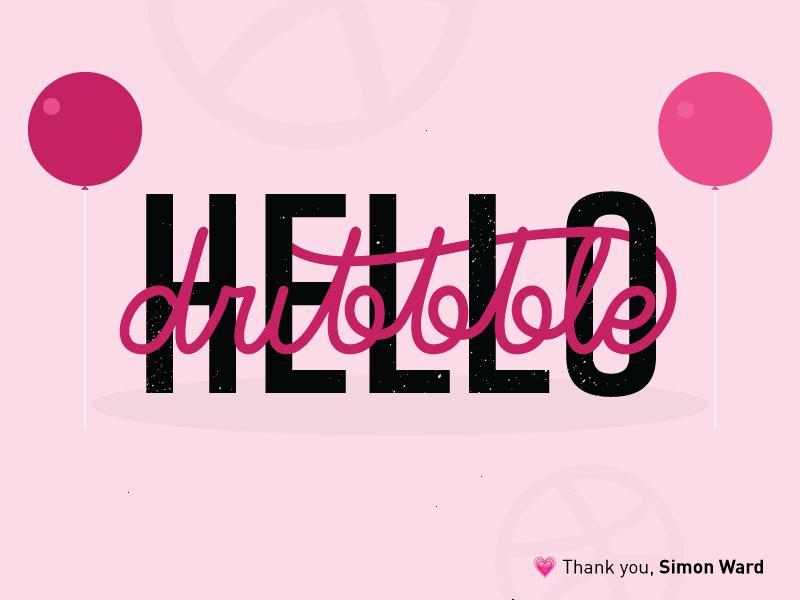 Hello :) debut typography