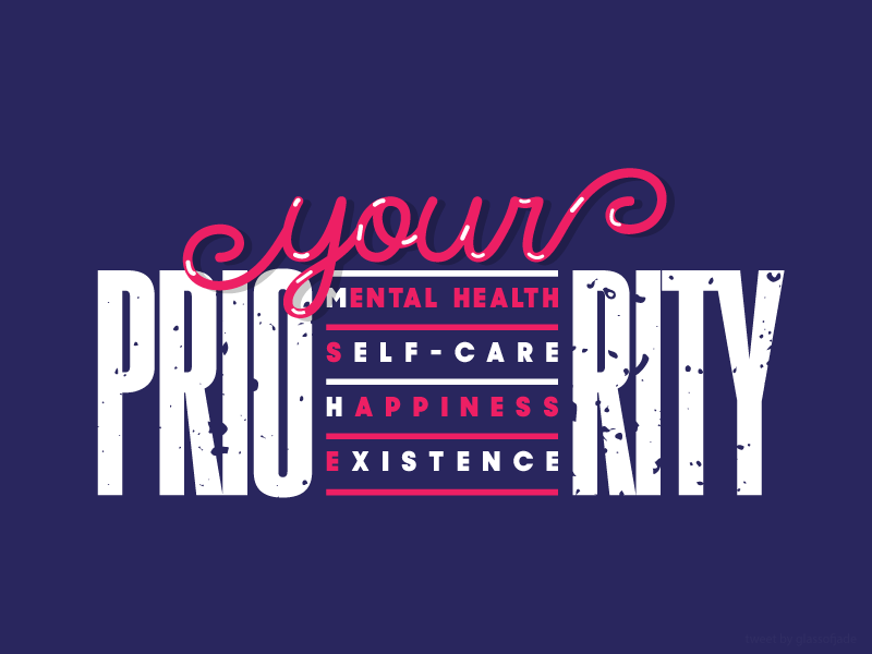 Your Priority typography