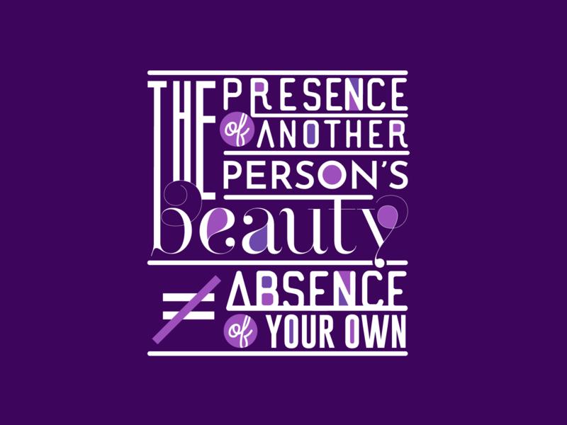 Favorite Quote typography