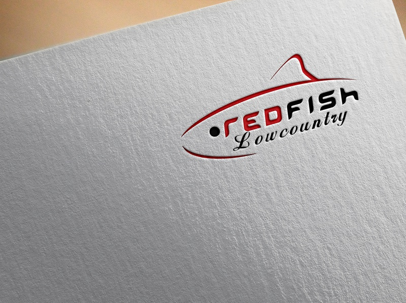red fish flat beatuful design design brand design vector branding brand identity illustrator logo design graphic design