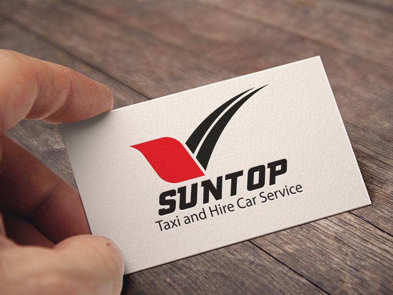 suntop logo des brand identity illustrator vector logo design concept typography flat branding logo design beatuful design brand design graphic design